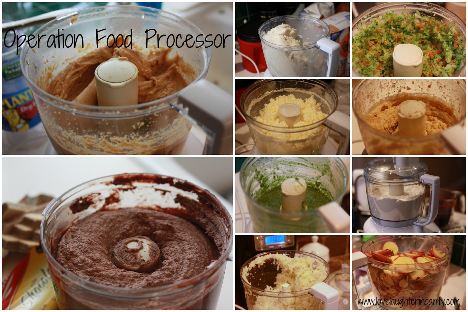 Operation Food Processor - Love, Laughter, and a Touch of ..