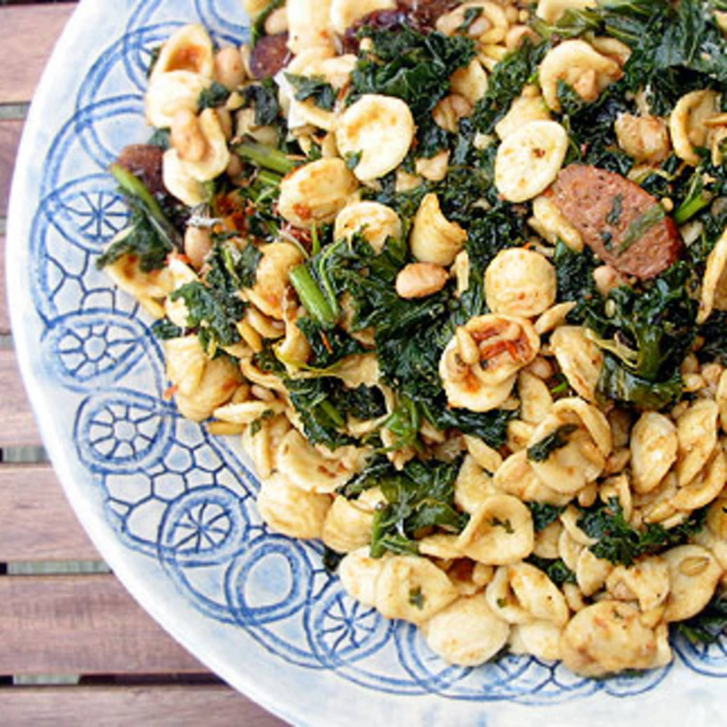 Orecchiette with Sausage and Kale - dinner recipes kale