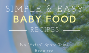 Organic And Easy To Make Baby Food Recipes – Organic Baby Food Recipes