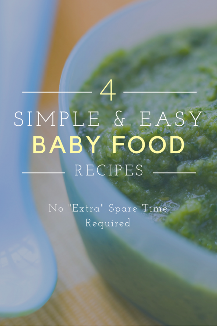 Organic and Easy To Make Baby Food Recipes - organic baby food recipes