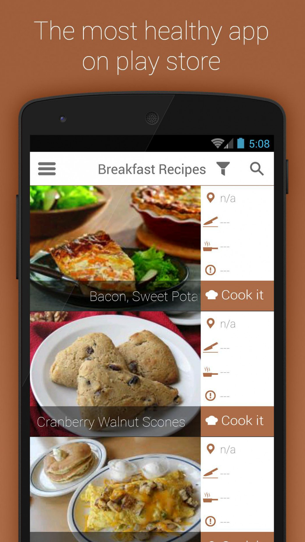 Organic Food Breakfast Recipes for Android - APK Download - organic food recipes