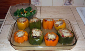 Orzo And Shrimp Stuffed Bell Pepper 04 – Orzo Recipes Chicken