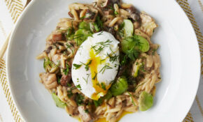 Orzo Risotto With Wild Mushrooms – Risotto Recipes Vegetarian