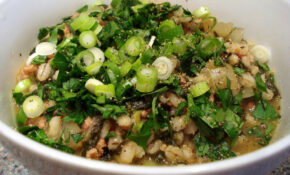 Orzotto With Pork Mince And Spinach – Www