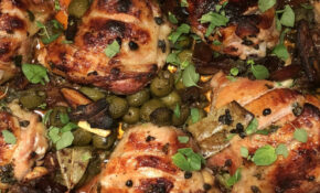 Ottolenghi's Simple: Chicken Marbella – Blythes Blog ..