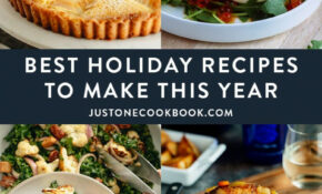 Our Best Holiday Recipes For The Unforgettable Feast • Just ..