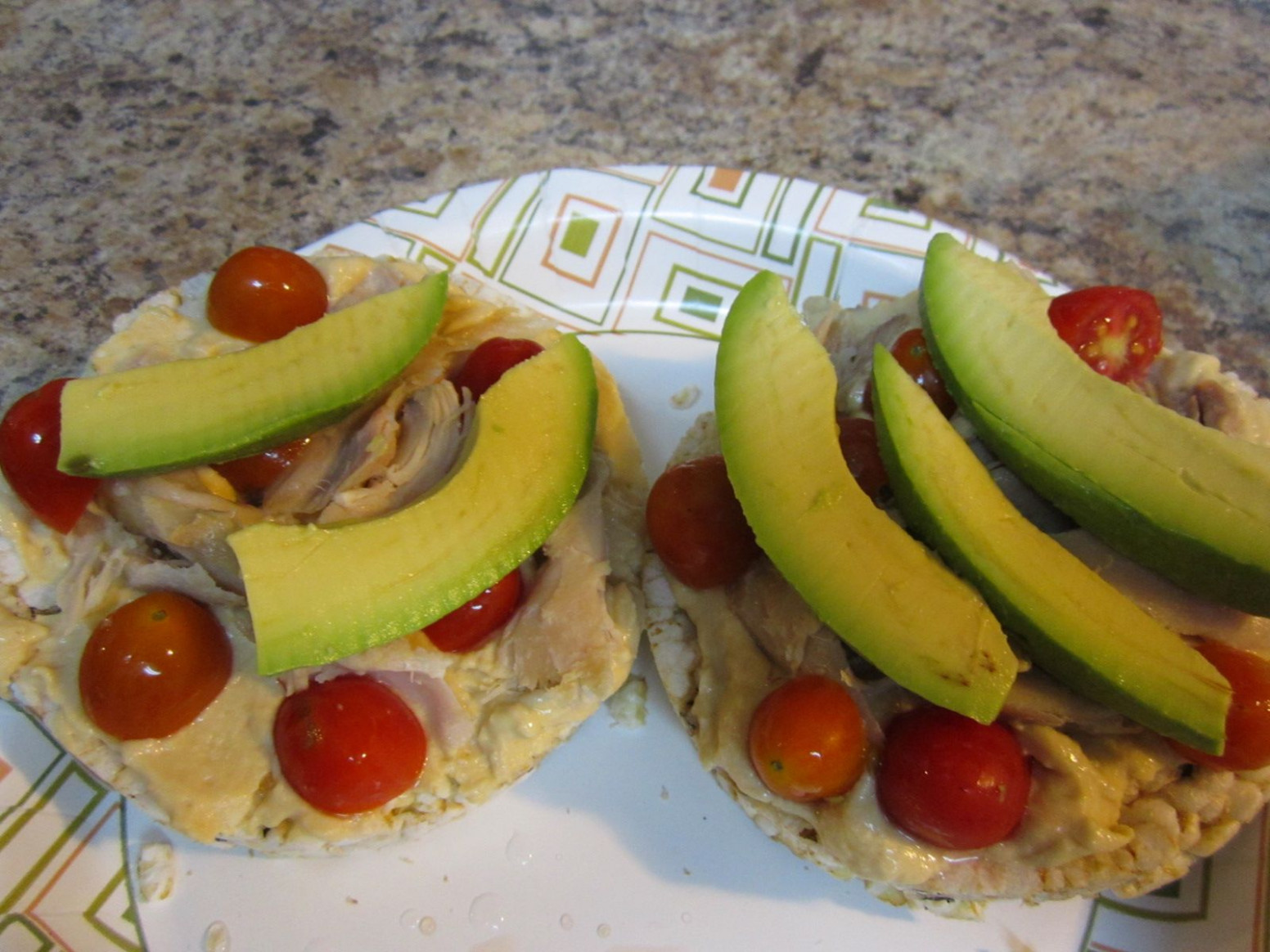 Our Hope Is In The Lord: Rice Cake Lunch,Dinner Or Snack - Daniel Fast Recipes Dinner