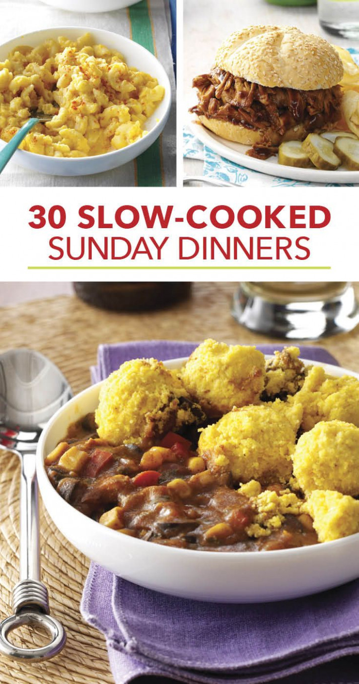 Our Most-Loved Slow-Cooked Sunday Suppers in 10 | Crockpot ..