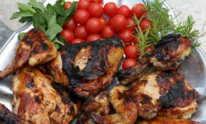 Oven Baked BBQ Chicken Finished On The Grill – Chicken Recipes Bbq