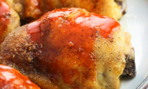 Oven Baked Buffalo Chicken Thighs – Chicken Recipes Thighs