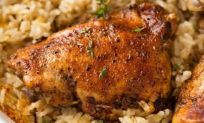 Oven Baked Chicken And Rice – Recipes To Bake Chicken
