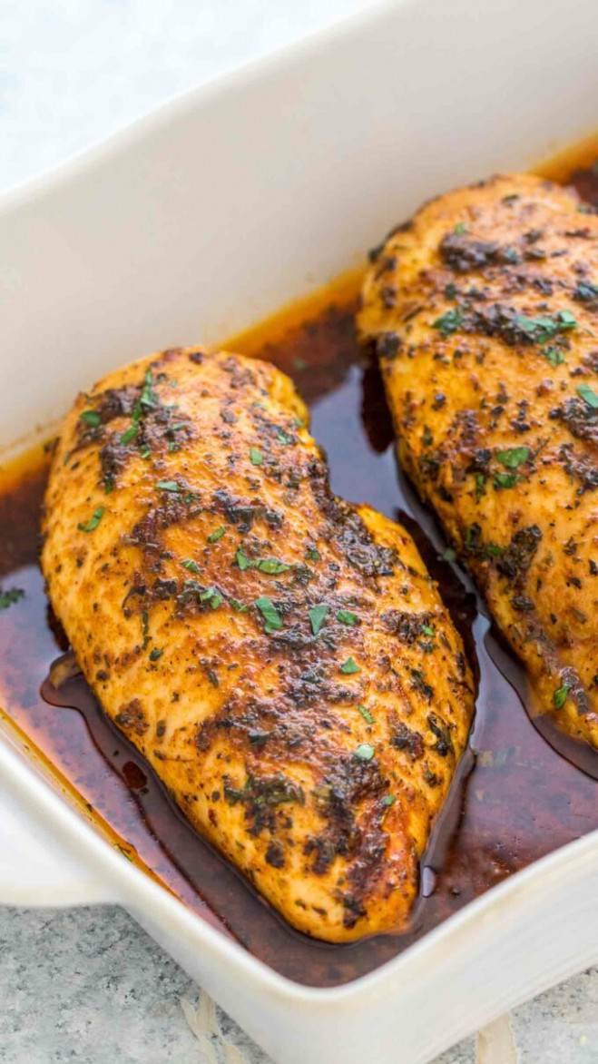 Oven Baked Chicken Breasts [Video] - Sweet and Savory Meals - recipes ideas for chicken breast