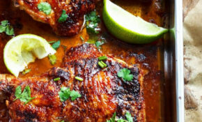 Oven Baked Chicken Recipes — Eatwell101 – Baked Chicken Leg Quarters Recipes