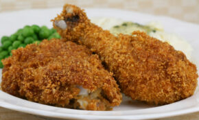 Oven Baked Corn Flake Crumb Chicken – Recipes To Bake Chicken