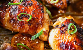 Oven Baked Honey Soy Chicken Thighs And Drumsticks – Oven Recipes Chicken