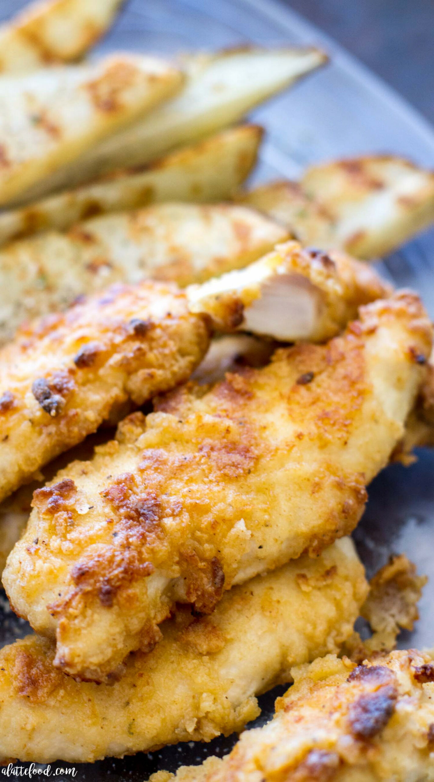 Oven-Baked Ranch Chicken Tenders - A Latte Food