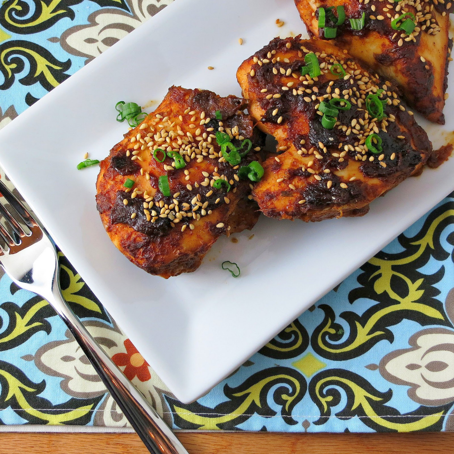 Oven-Baked Sriracha Chicken - chicken recipes in oven