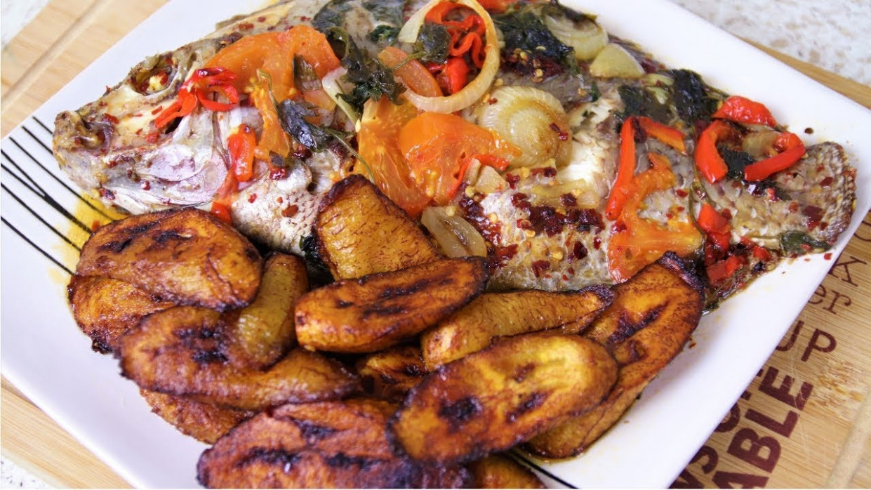 OVEN BAKED TILAPIA RECIPE | Nigerian Food Recipes | Health ..