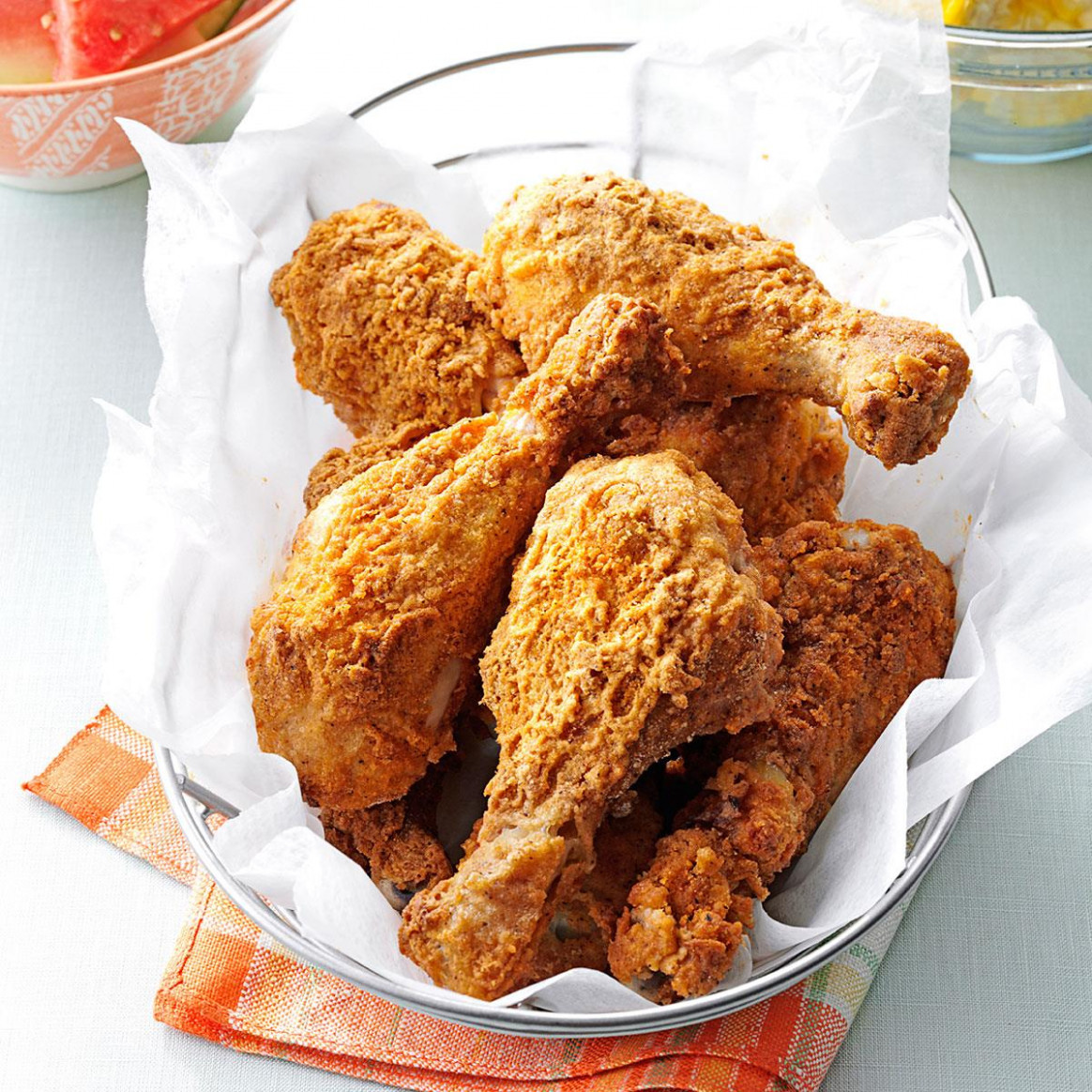 Oven Fried Chicken Drumsticks - Chicken Recipes Legs And Thighs