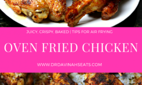 Oven Fried Crispy Chicken Wings | Fries In The Oven, Chicken ..