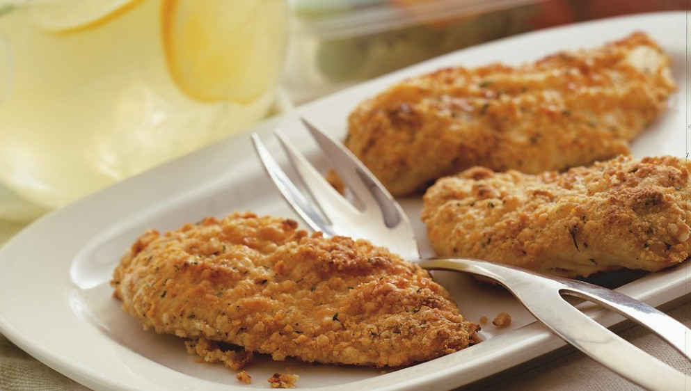 Oven-Fried Picnic Chicken - recipes ranch chicken