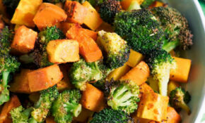 Oven Roasted Broccoli And Squash – Oven Recipes Vegetarian