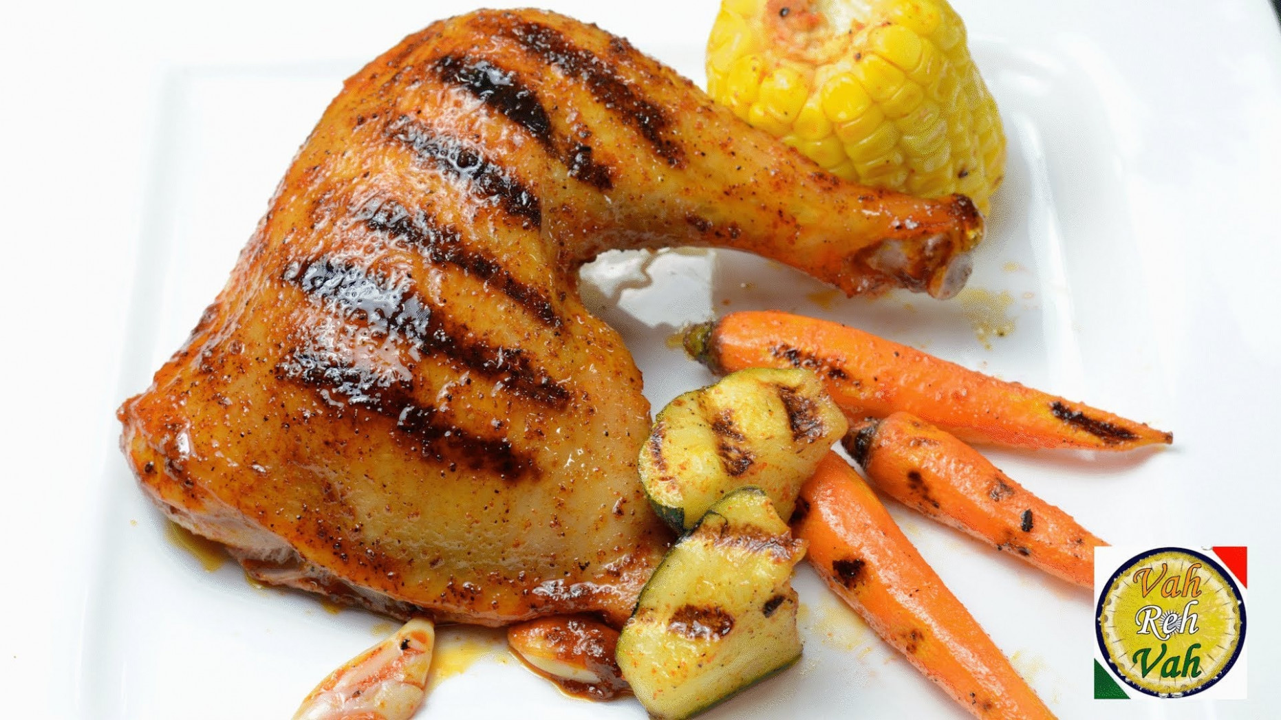 Oven Roasted Chicken Legs - By Vahchef @ Vahrehvah.com ..