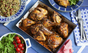 Oven Roasted Chicken With Sumac And Pomegranate Molasses – Chicken Recipes Roasted