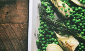Oven Roasted Fennel And Peas – Vegetarian Recipes Oven