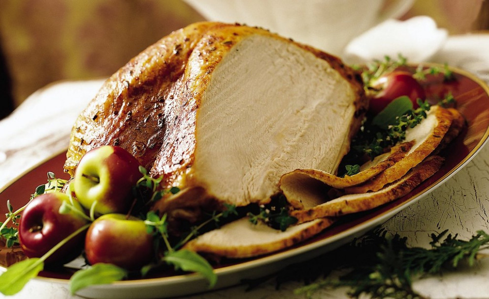 Oven Roasted Turkey Breast Recipe - Recipes Large Dinner Party