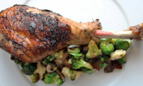 Oven Roasted Turkey Legs | Ruled Me – Healthy Recipes Roasted Turkey Legs