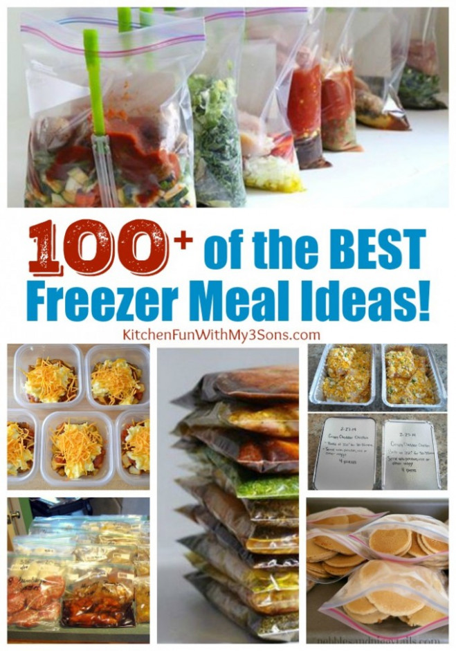 Over 100 of the BEST Freezer Meals! - Kitchen Fun With My ..