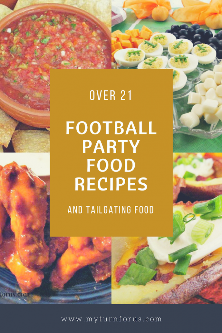 Over 21 of the Best Football Party Food Recipes - My Turn ..