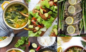 Over A Month Of Whole15 Recipes – A Saucy Kitchen – Whole30 Recipes Vegetarian
