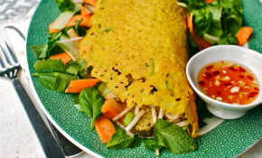 Over Stuffed Vietnamese Savoury Crepes (vegan And Gluten ..