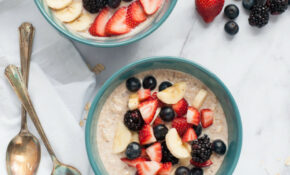 Overnight Oats For Quick Weekday Breakfasts – Healthy Recipes For Breakfast