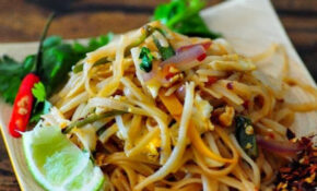 Pad Thai – Vegetarian Pad Thai Noodles Recipe, Step By ..