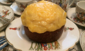 Paddington's Orange Poppyseed Birthday Cake With Orange Curd – Recipes Birthday Dinner