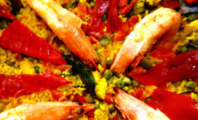Paella Caseira De Frutos Do Mar – Mediterranean Recipes Dinner