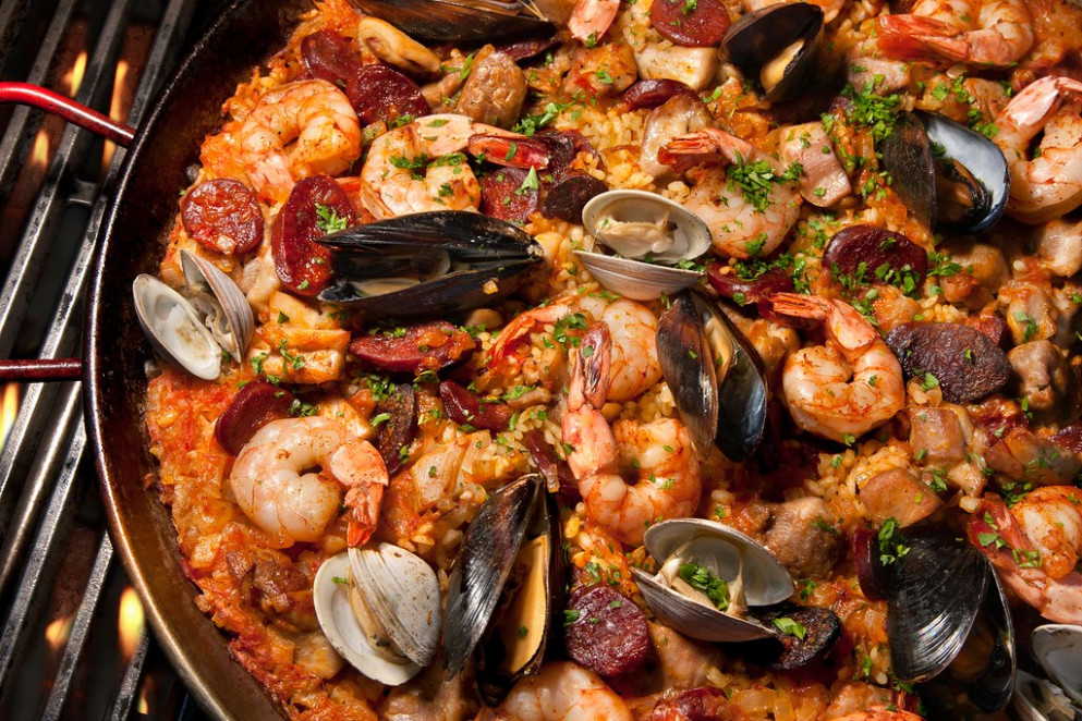 Paella - food recipes classic wow