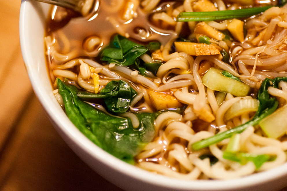 Pak Choi Ramen - recipes vegetarian pasta sauce