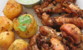 Pakistani Food Recipes: Chicken Roast With Potatoes – Chicken Recipes Pakistani