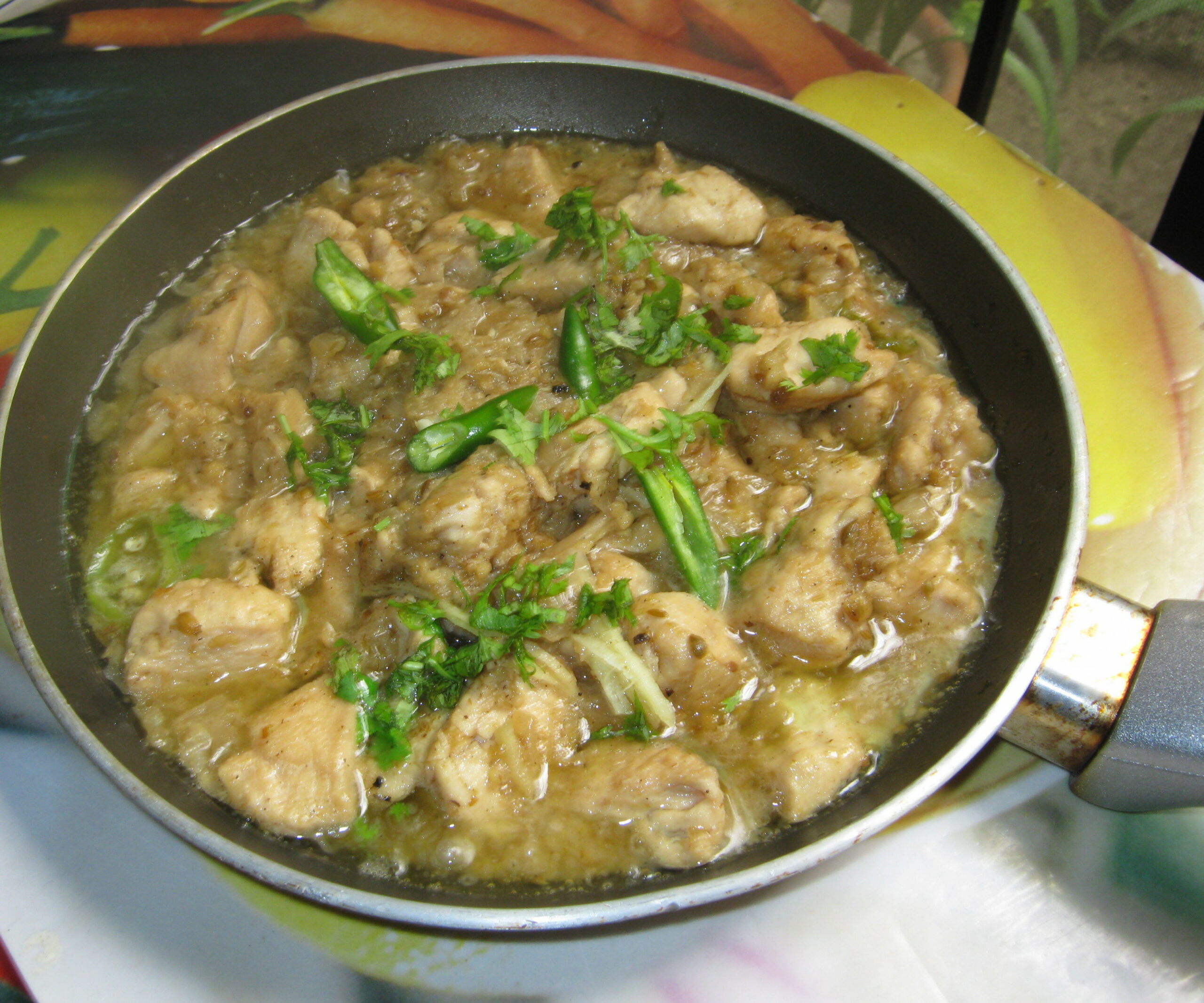 Pakistani White Chicken Boneless Handi : 14 Steps (with Pictures) - recipes of boneless chicken