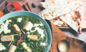Palak Paneer Masala Is A Popular North Indian Recipe For Lunch/dinner.