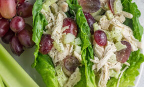 Paleo Chicken Salad Lettuce Wraps – Recipes With Leftover Chicken