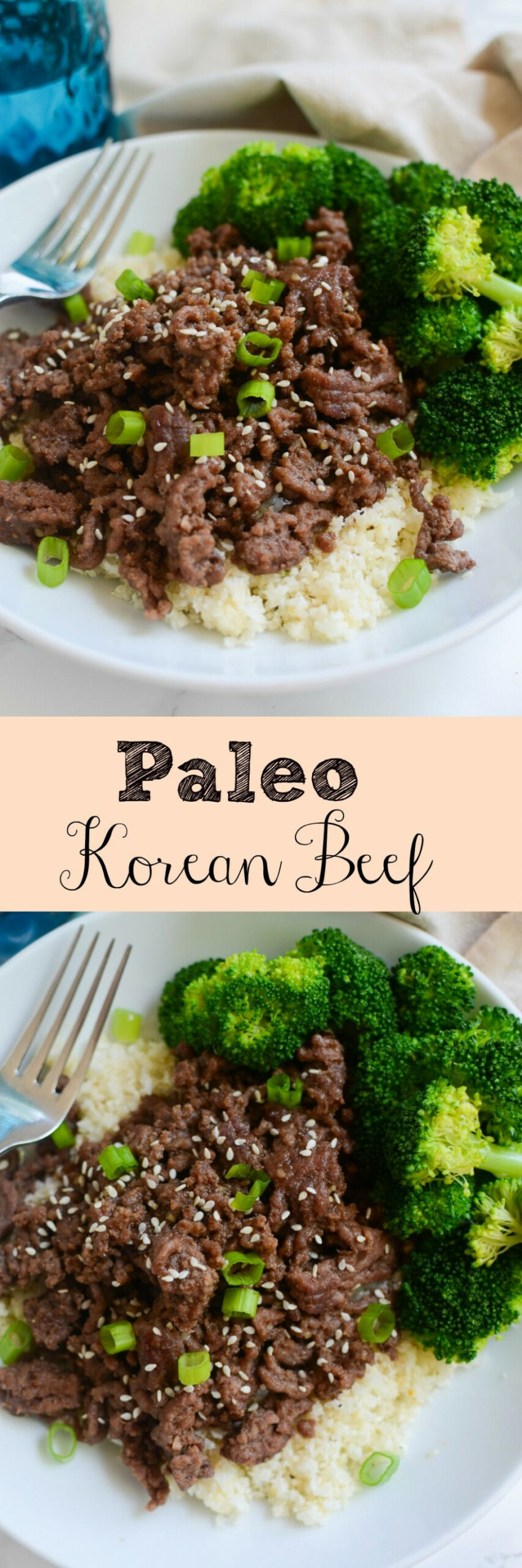 Paleo Korean Beef Bowls - delicious 20 minute meal! Spicy ..