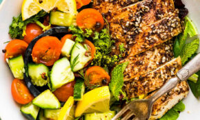 Paleo Meal Prep: Za'atar Chicken Bowl W/ Cucumber Raita ..