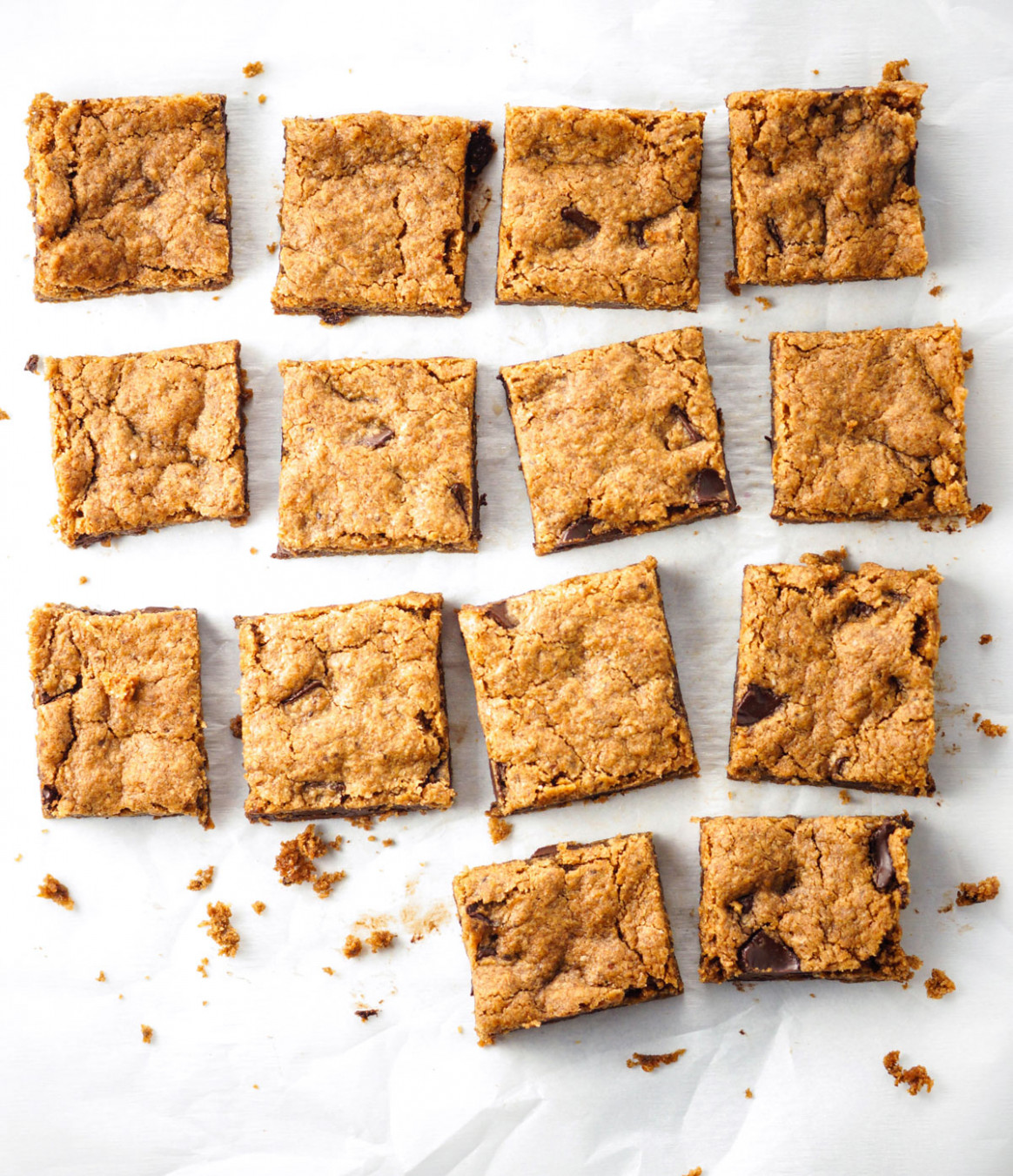 Paleo & Vegan Almond Butter Blondies | Detoxinista - paleo recipes vegetarian