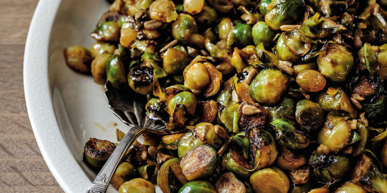 Pan-Fried Brussels Sprouts With Pickled Raisins and ..