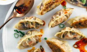 Pan Fried Crispy Vegetable Tofu Dumplings Recipe | Jessica ..